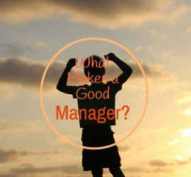A Good Manager