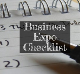 biz expo checklist banner