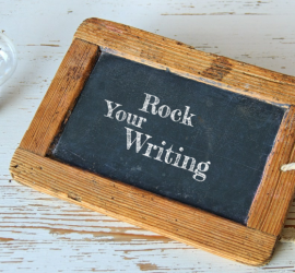 rock your writing banner