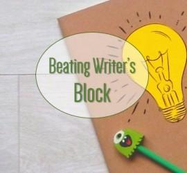 Beating writer's block