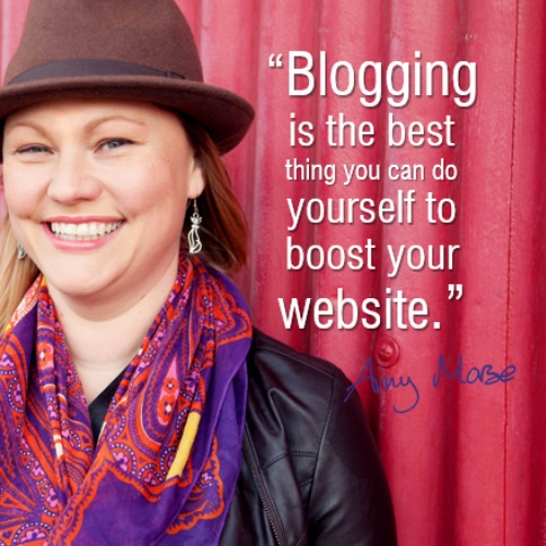 boost your website with a blog