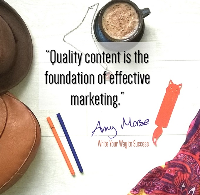Quality content is the foundation of effective marketing