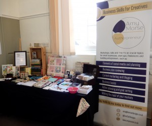 My stall in the Southville Centre