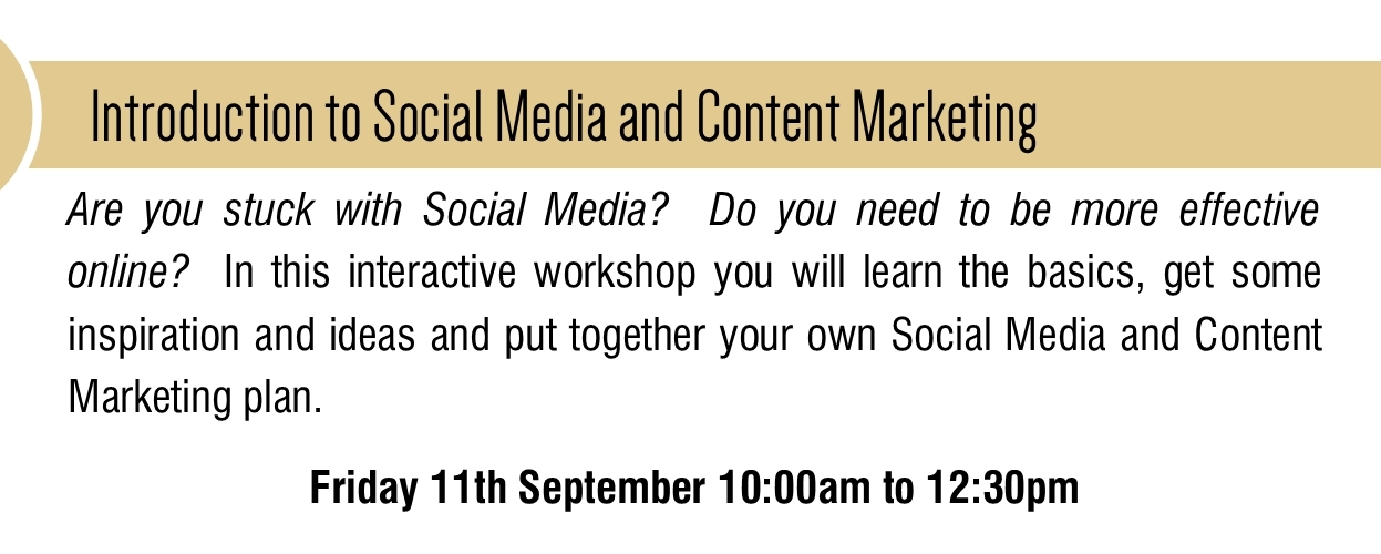 Social Media and Content Marketing