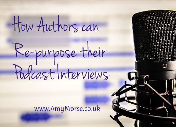 Authors Re-purpose Podcasts