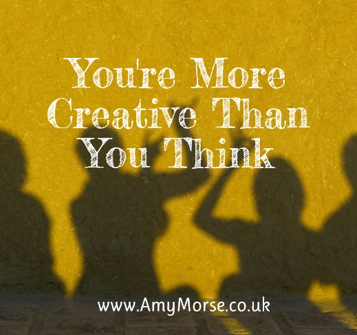 We are all creative, here's why