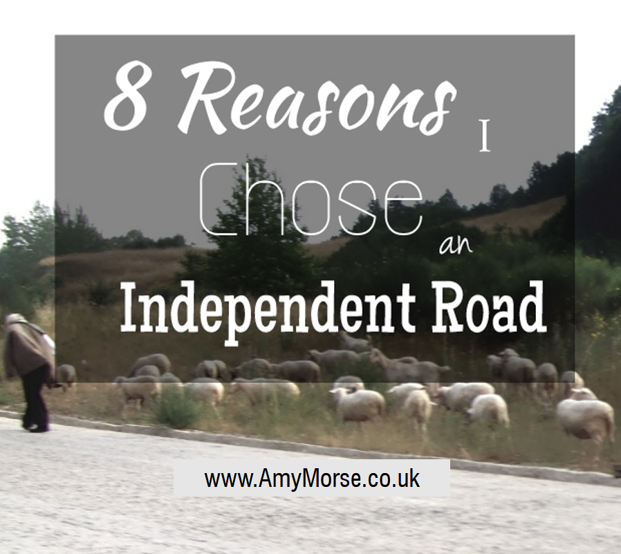 8 Reasons I Chose an Independent Road - Self Publishing