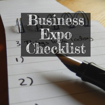 business expo checklist