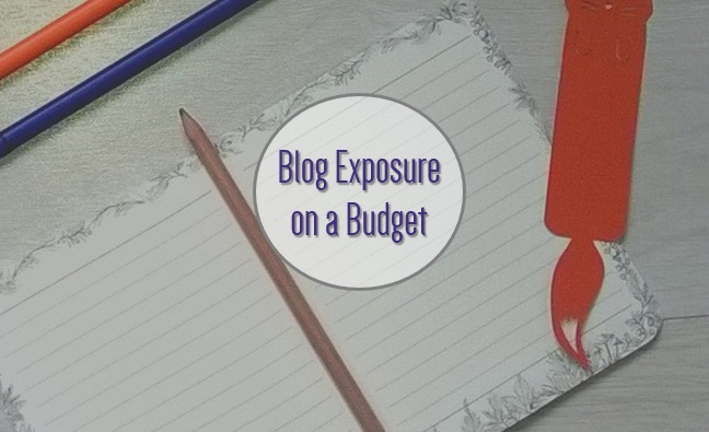 Blog exposure on a budget