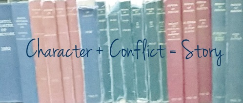 character plus conflict equals story