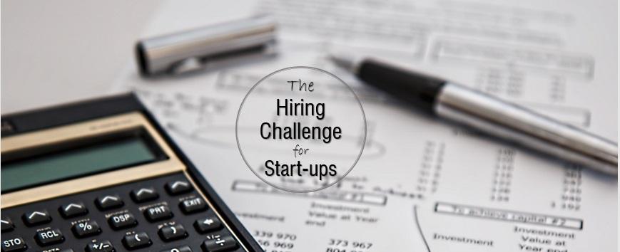hiring challenge for start-up