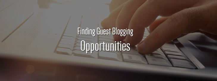 guest blogging opprtunities