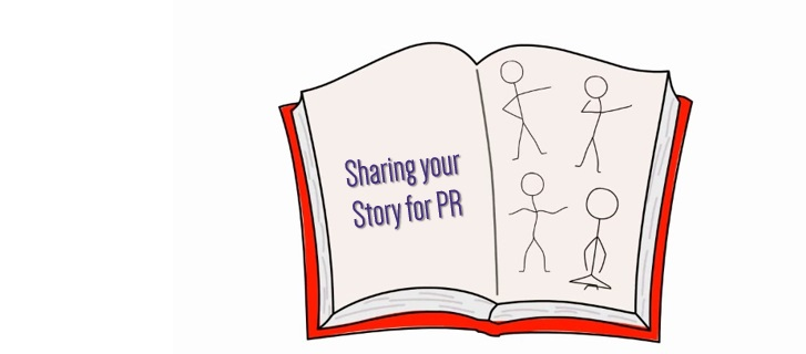 sharing story for PR
