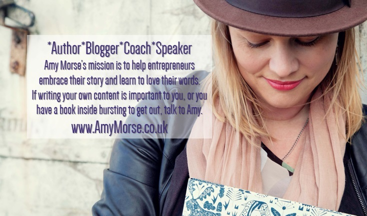 About the blogger Amy Morse