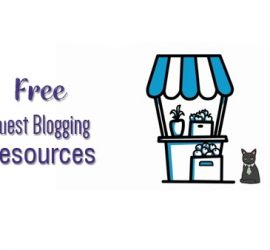 guest blogging resources - Idizeo list