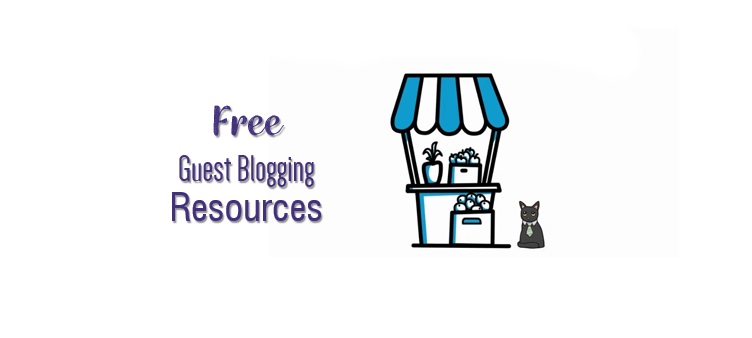 guest blogging resources - Idizeo list