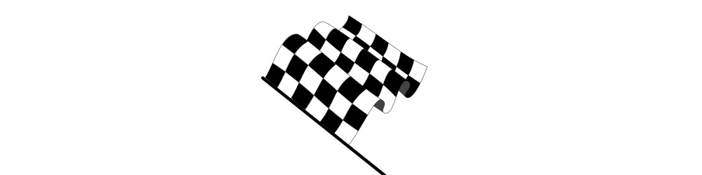 Chequered flag get it done you win