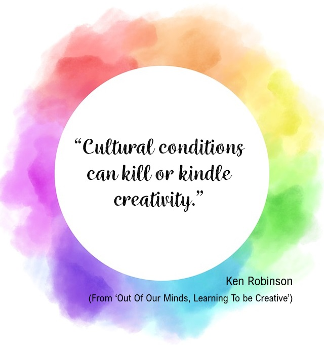 Kill or kindle creativity quote