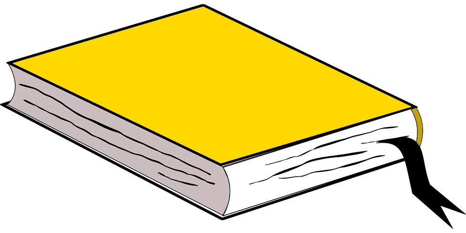 yellow story book