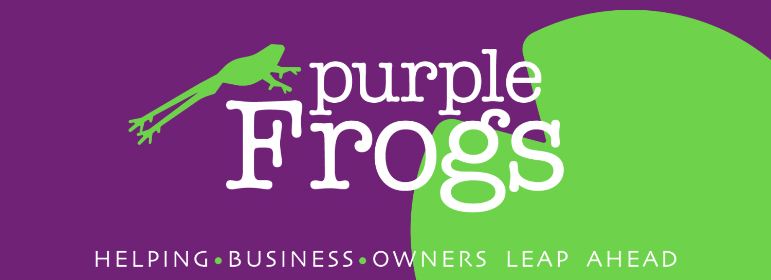 Passion Project interview with Purple Frogs. Helping business leap ahead