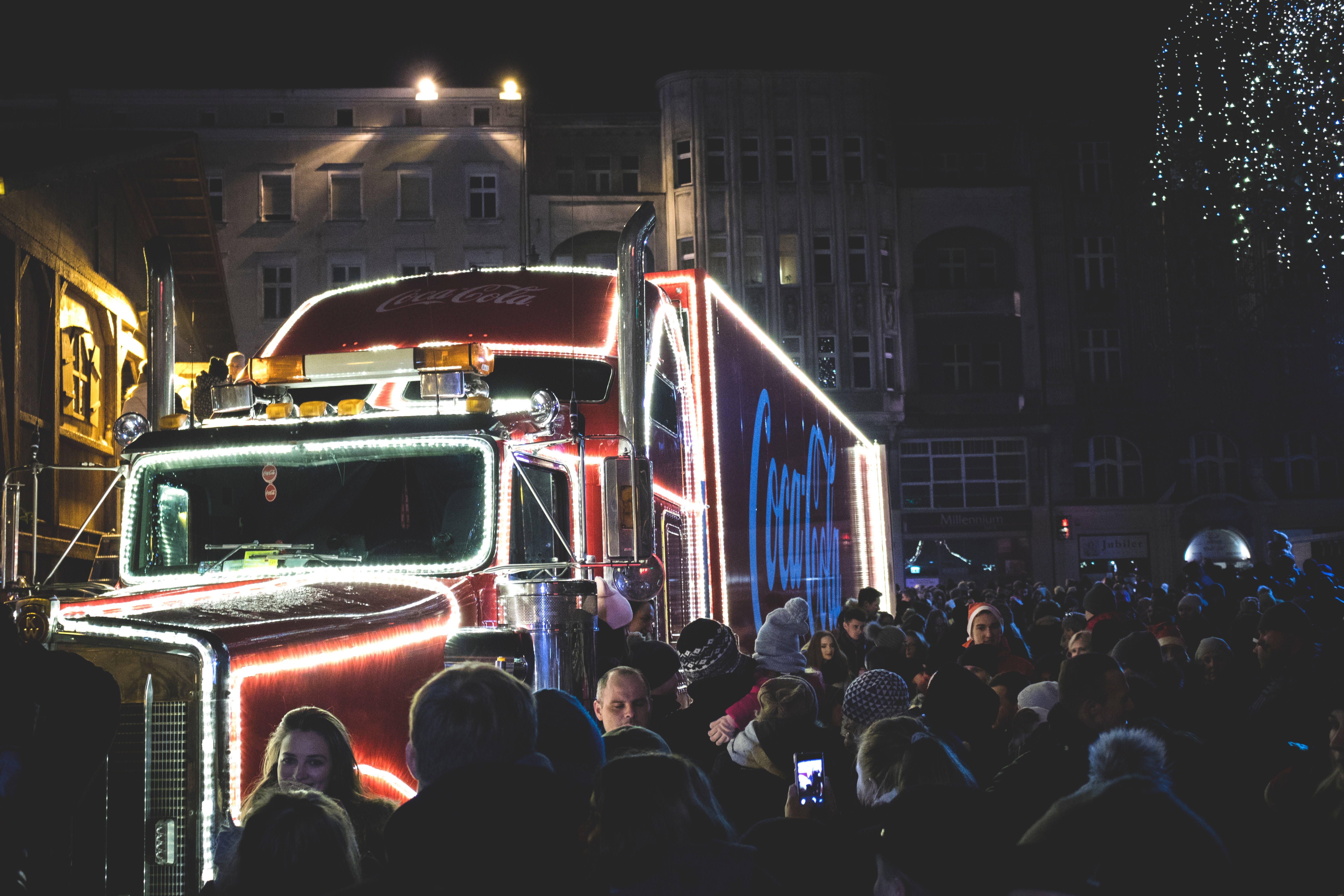 Lessons You Can Learn From Successful Marketing Campaigns - Coca Cola Truck