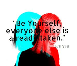 Be yourself. Authenticity, with boundaries