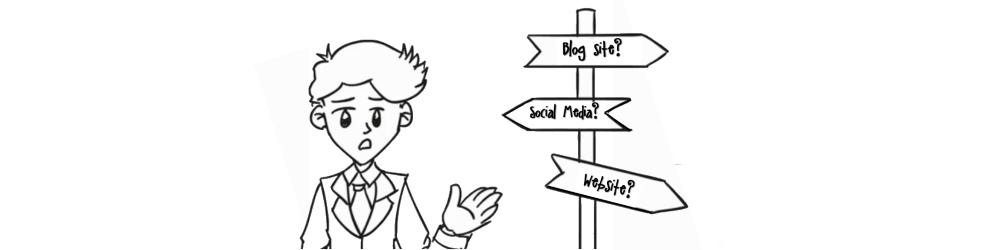 Which platform do I use to write my blog