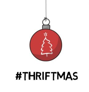Greetings for a thrifty Christmas