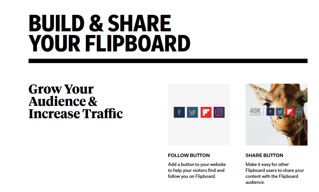 Build your audience with Flipboard