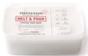 Melt and pour soap base with Goat's Milk