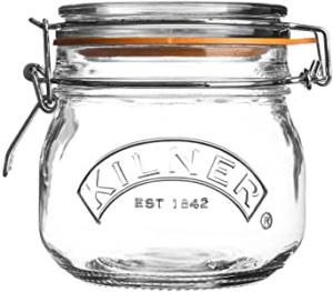 Spring lid Kilner Jar