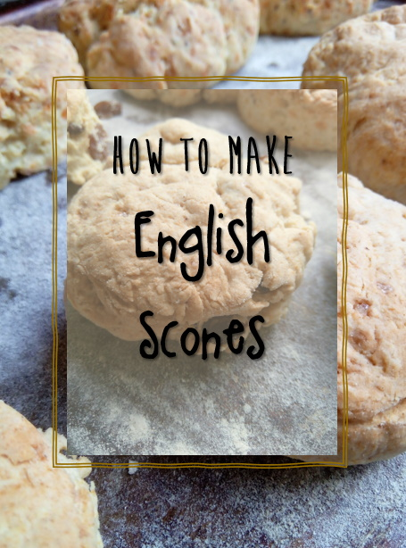 how to make english scones