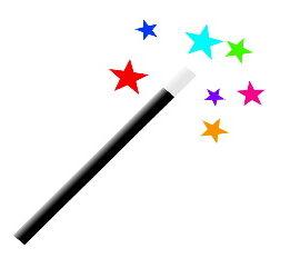 magic wand revive old writing