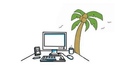 Working Remotely without being isolated