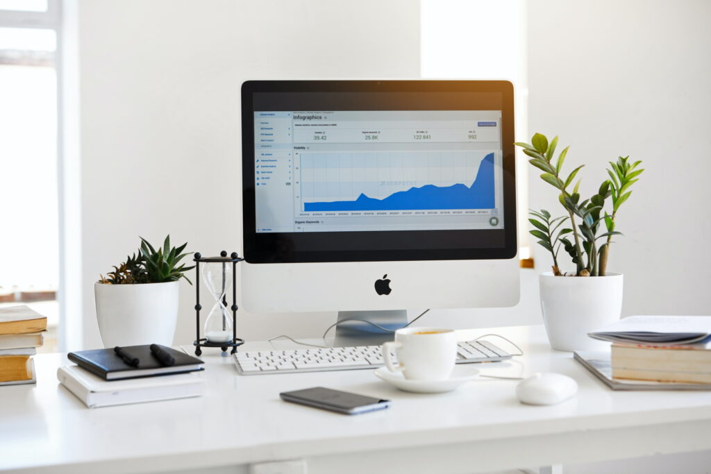 Computer screen - tips to skyrocket your business
